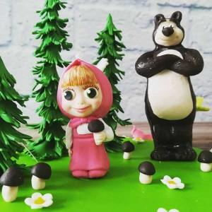 """Торт """"Маша и медведь"""" Арт. 00464"""