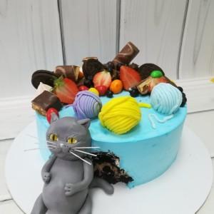 "Торт ""Объевшийся кот"" Арт. 00520"