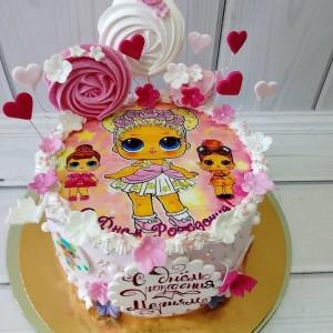 """Торт """"Куклы Лол"""" Арт. 00526"""
