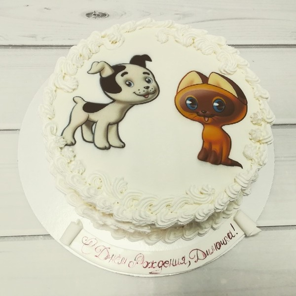 """Торт """"Котёнок по имени Гав"""" Арт. 00550"""