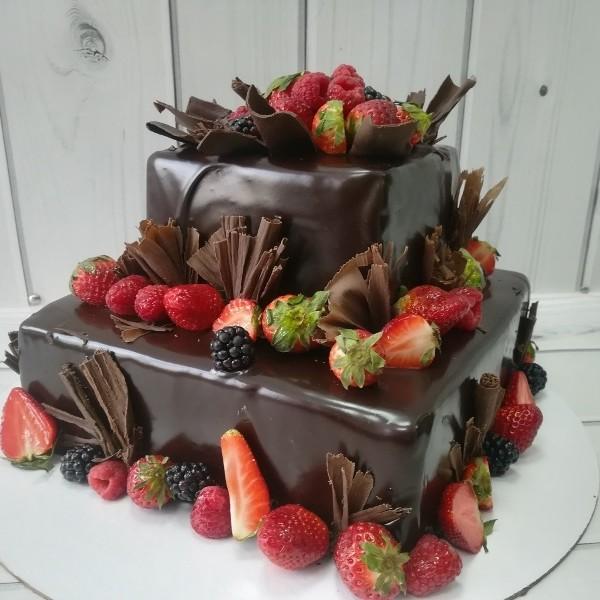 """Торт """"Шоколадно-ягодный"""" Арт. 00558"""
