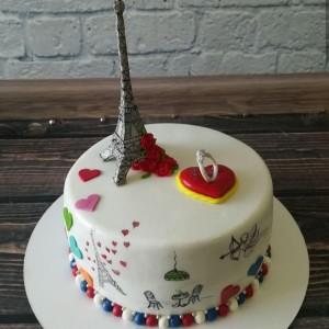 """Торт """"Эйфелева башня"""" Арт. 00559"""