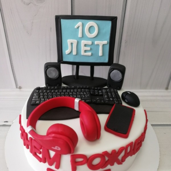 "Торт ""Сладкий компьютер"" Арт. 00568"