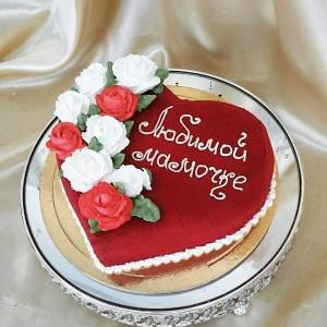 "Торт ""Любимой мамочке"" Арт. 00591"