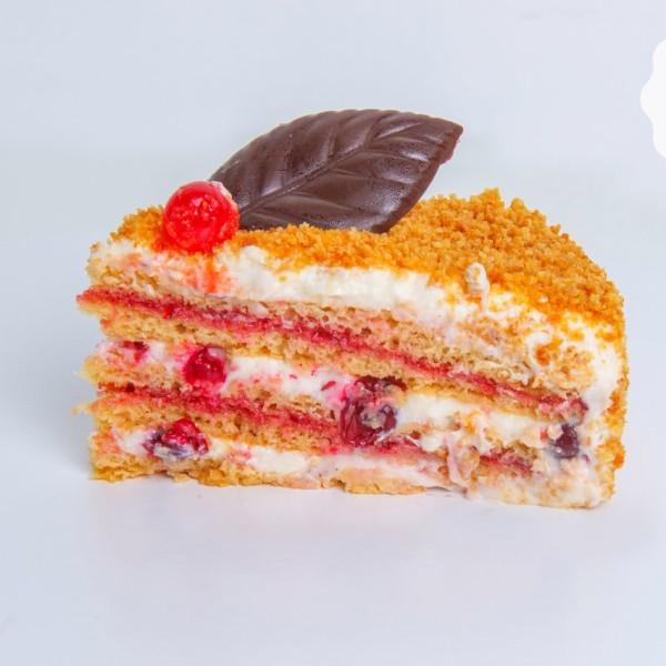 Торт «Австрийский с клюквой»
