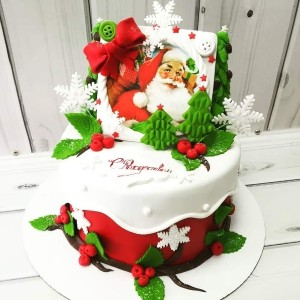 "Торт ""Рождественский"" Арт. 00599"