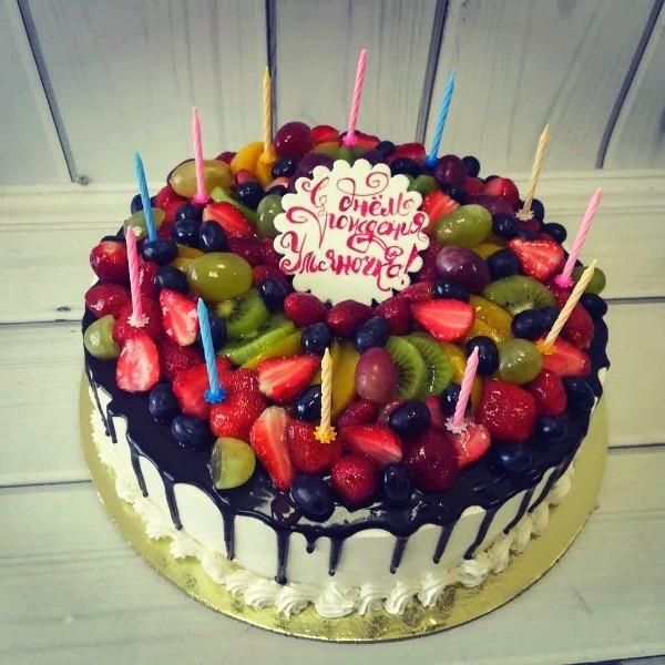 """Торт """"Ягодно-фруктовый"""" Арт. 00619"""