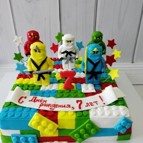 """Торт """"Лего Ниндзя Го"""" Арт. 00641"""
