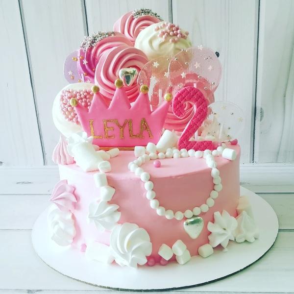 """Торт """"На 2 годика"""" Арт. 00648"""