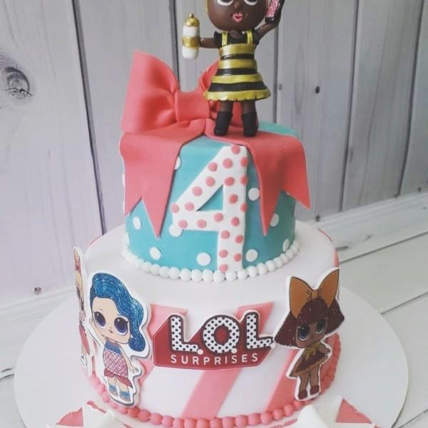 """Торт """"Куклы Лол"""" Арт. 00650"""