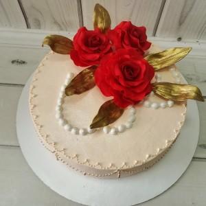 "Торт ""Три розы"" Арт. 00671"