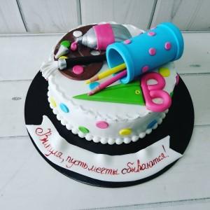 """Торт """"Для художника"""" Арт. 00678"""