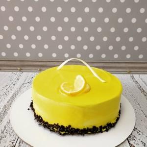 """Торт """"Лимонное - птичье молоко"""" Арт. 00724"""