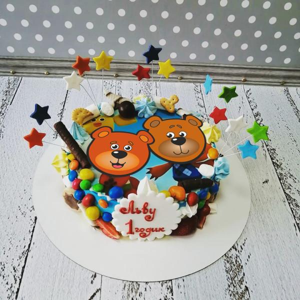 """Торт """"Веселые Мишки Ми"""" Арт. 00705"""