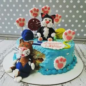 """Торт """"Котики"""" Арт. 00708"""