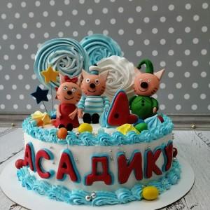 """Торт """"Три кота"""" Арт. 00729"""