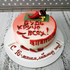 """Торт """"Будь круче всех"""" Арт. 00732"""