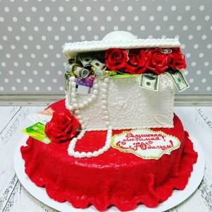 """Торт """"Обворожительная шкатулка"""" Арт. 00761"""