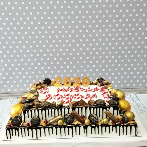 """Торт """"С Новым годом!"""" Арт. 00768"""