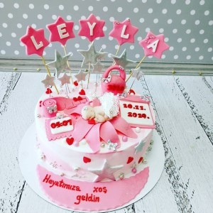 """Торт """"Для новорожденной"""" Арт. 00747"""