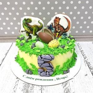 """Торт """"С динозаврами"""" Арт. 00787"""