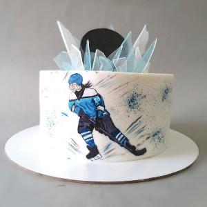 """Торт """"Для юной хоккеистки"""" Арт. 00822"""