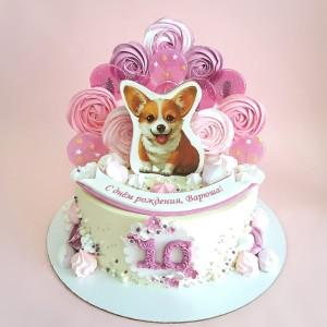 """Торт """"На десятый день рождения"""" Арт. 00817"""
