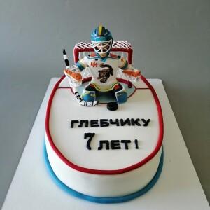 """Торт """"Для хоккеиста"""" Арт. 00840"""