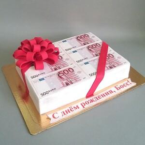 "Торт ""С пачками валюты"" Арт. 00841"