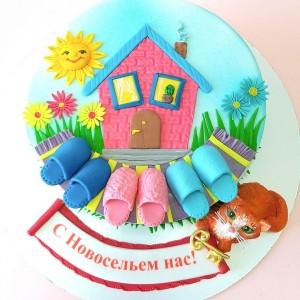 "Торт ""На Новоселье"" Арт. 00834"