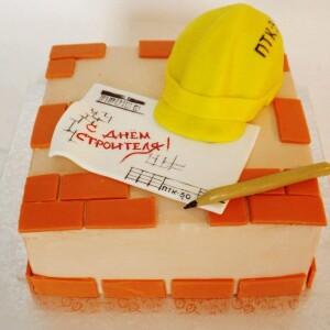"""Торт """"С днем строителя"""" Арт. 00857"""
