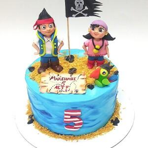"""Торт """"С пиратами"""" Арт. 008957"""