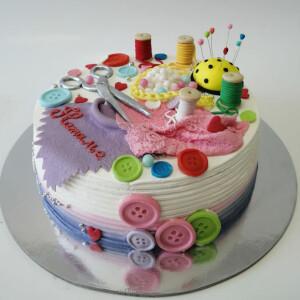 """Торт """"Для швеи"""" Арт. 00885"""
