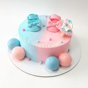 """Торт """"На рождение малыша"""" Арт. 00888"""