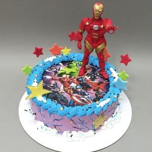 """Торт """"Железный человек"""" Арт. 00907"""