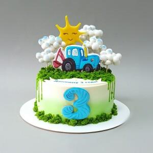 """Торт """"На 3 годика"""" Арт. 00900"""