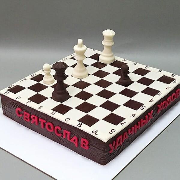 """Торт """"В виде шахматной доски"""" Арт. 00911"""