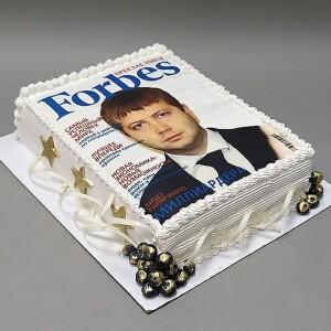 "Торт ""Журнал FORBES"" Арт. 00927"