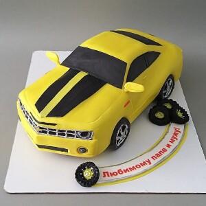 """Торт """"Chevrolet CAMARO GT"""" Арт. 00954"""