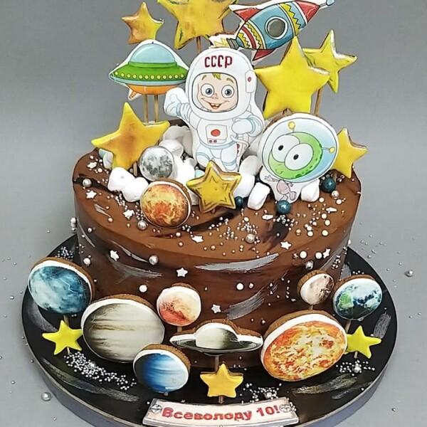 """Торт """"Космический"""" Арт. 00949"""