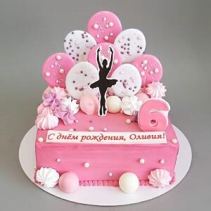 """Торт """"Для балерины"""" Арт. 00960"""