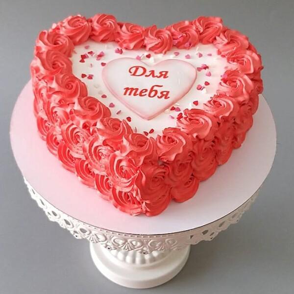 """Торт """"В форме сердца"""" Арт. 00966"""