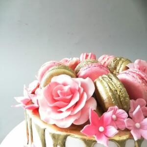 """Торт """"С цветами"""" Арт. 00972"""