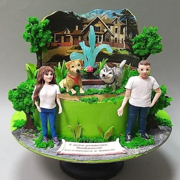 """Торт """"Счастливая семья"""" Арт. 00976"""