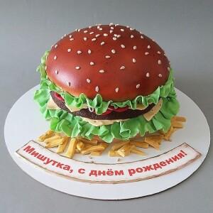 """Торт """"Гамбургер"""" Арт. 00982"""