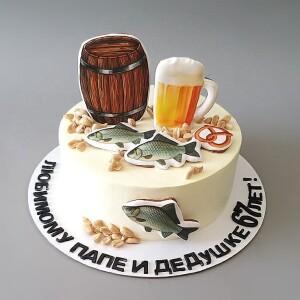 """Торт """"Для любителей солёненького"""" Арт. 00989"""