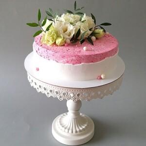 "Торт ""С живыми цветами"" Арт. 01028"