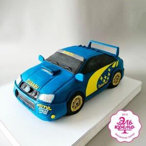 """Торт """" В форме машины"""" Арт. 01045"""