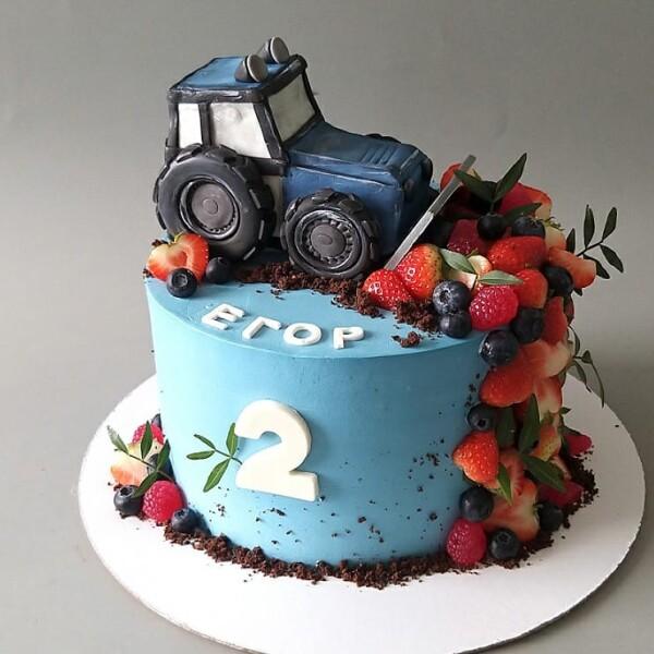 """Торт """"Трактор"""" Арт. 01030"""