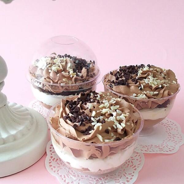 """Десерт """"Шоколадный мусс"""" Арт. 01033"""
